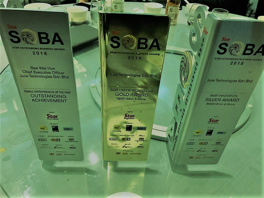 soba, soba awards, outstanding achievement award