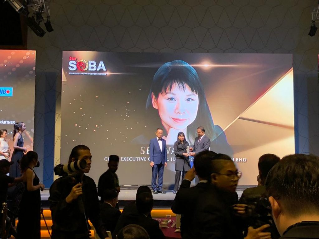 see wai hun, soba, outstanding achievement award
