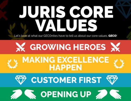 GECO: Our Juris Core Values