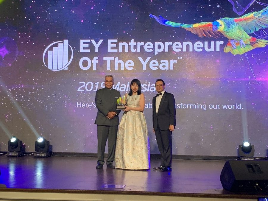 EOY2019, EOY, EY, entrepreneur, inspiring, innovative, creative, awards, wai hun, see wai hun