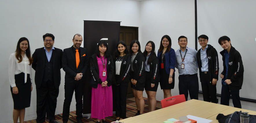 juristech, campus ambassador, taylor's university