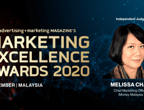 iMoney's CMO Melissa Chan, independent judge for the Marketing Excellence Awards 2020