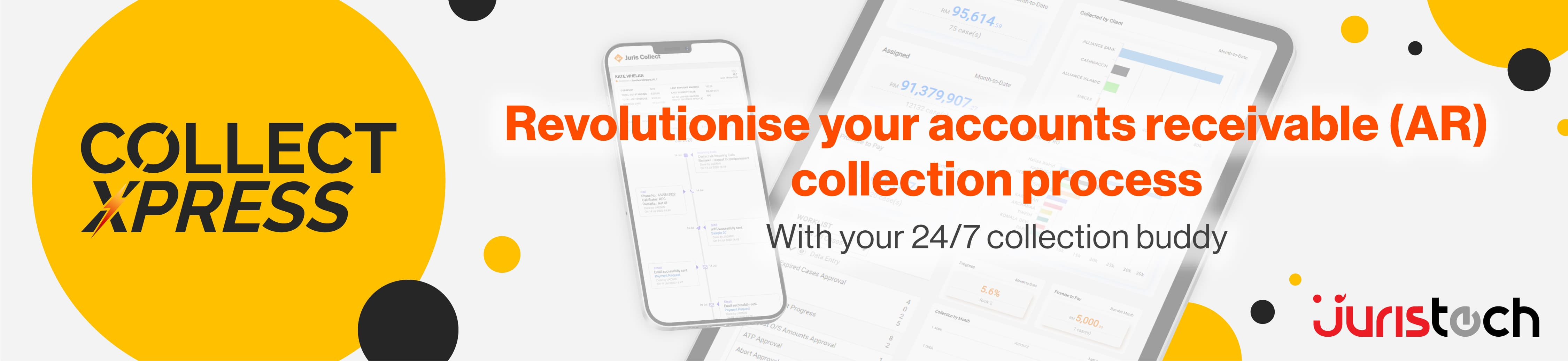 cloud-based collection solution, unpaid invoices, collectxpress, sme