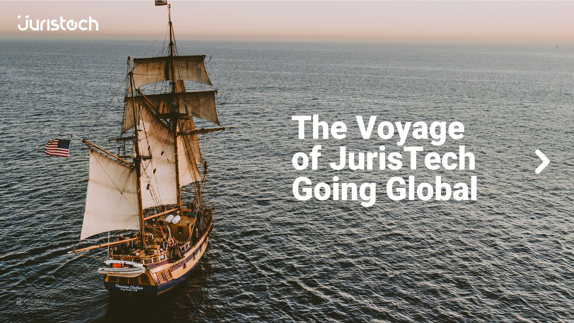 The voyage of JurisTech going global